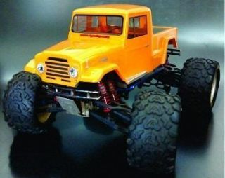 LHP-0965 - PICK-UP TOYOTA BANDEIRANTE 63 STEPSIDE P/ REVO  3.3 / SAVAGE / FLUX - OFF ROAD MONSTERS