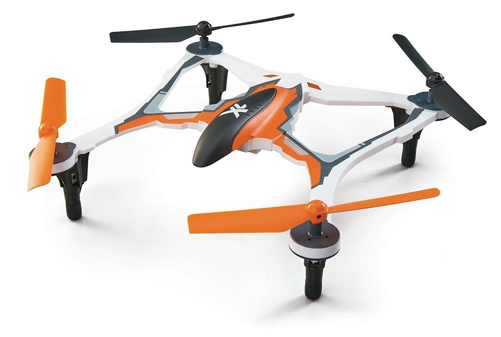 DID E05NN - QUADRICÓPTERO XL 370 UAV RTF - LARANJA - Uso Recreativo