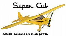 FLZA 4010 - Piper Super Cub Select RTF - 48