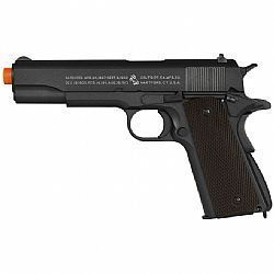 180512 - Pistola Airsoft CO2 M1911 A1 Blowback Preta